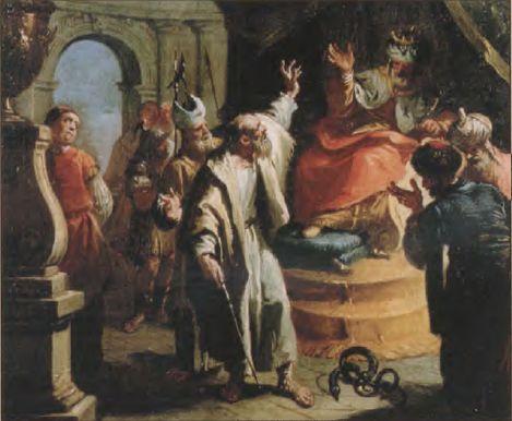 иллюстрация к библии Исход глава 6 #библия #ветхийзaвет #Bible #иллюстрация #гравюра #картина #искусство #религия #христианство