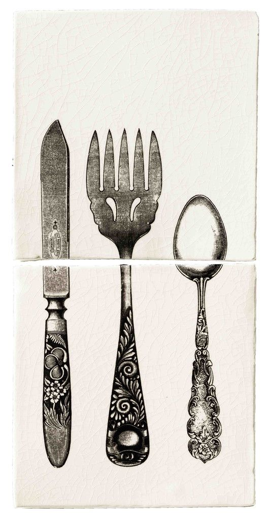 Cutlery Tile Number 2