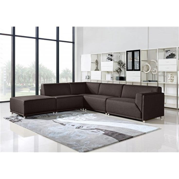 foot rests for living room%0A MODERNA Sectional w  Ottoman