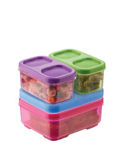 Rubbermaid  LunchBlox Kid's Tall Lunch Box Kit, Purple/Pink/Green Rubbermaid http://www.amazon.com/dp/B00DVEGB6Y/ref=cm_sw_r_pi_dp_NYV0tb1G5JJYZ6X0 - Rank #1