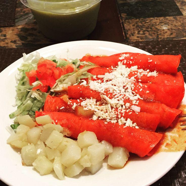 Enchiladas Mexicanas Estilo Monterrey Nuevo Leon Ba Adas