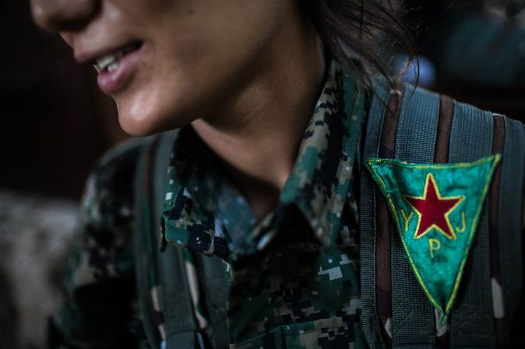Meet the Kurdish Women Fighting ISIS in Syria | In the dry and desolate land along Syria's northeastern border, thousands of young Kurdish women have taken up arms to protect their people against attacks from Bashar Assad's government, ISIS militants and the al Qaeda-linked al-Nusra Front.