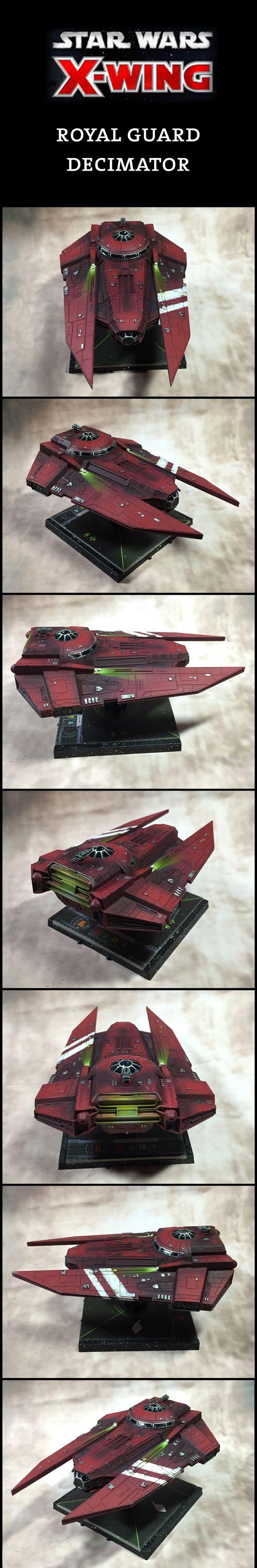 X-Wing Miniatures Royal Guard Decimator                                                                                                                                                                                 More