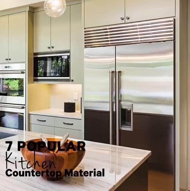 7 Sleek Waterfall Kitchen Island Counters Cococozy Kitchen