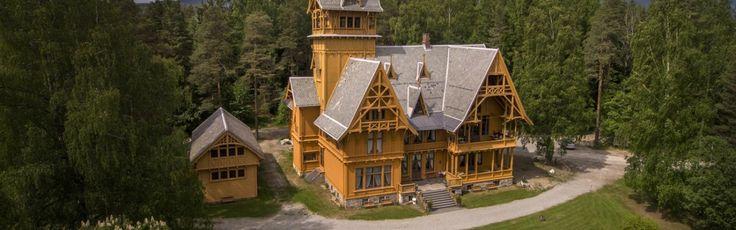 Villa Fridheim, Bjørøya, NO-3536 Noresund
