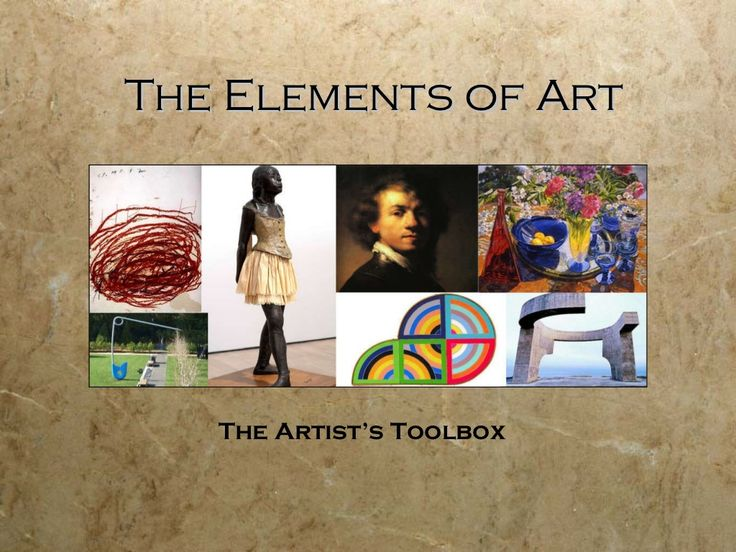 """Elements & Principles  --- Good overview of various teaching resources from the Incredible Art Dept. -- TO OPEN THIS LINK, click on the """"Visit incredibleart.org"""" line under the image."""