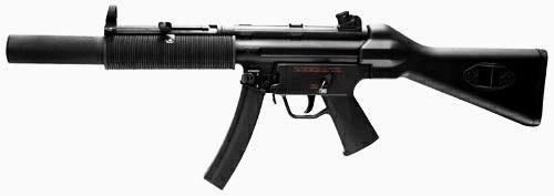 Heckler & Koch MP5SD2 - 9x19mm - Submachine Gun / Carbine