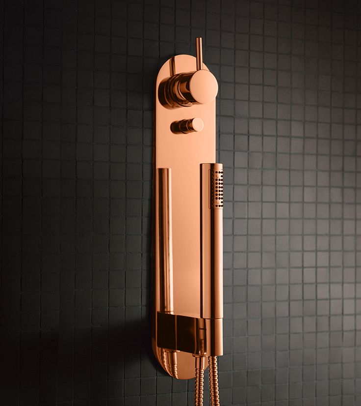 copper concealed shower METRO 5 by Lavernia & Cienfuegos for SANICO. #copper #cobre #cuivre