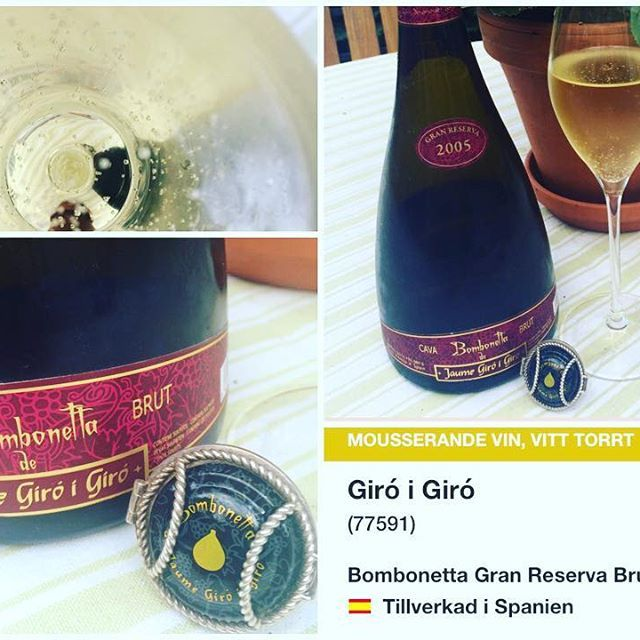 The end of the week is here and we are enjoying a lovely Bombonetta from @girogramona that luckily is available here in Sweden! A…