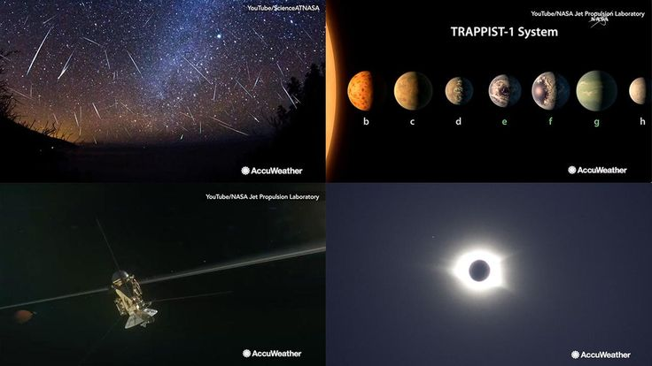 It has been an exciting year in the field of astronomy with asteroid showers, scientific discoveries and an eclipse seen around the country.