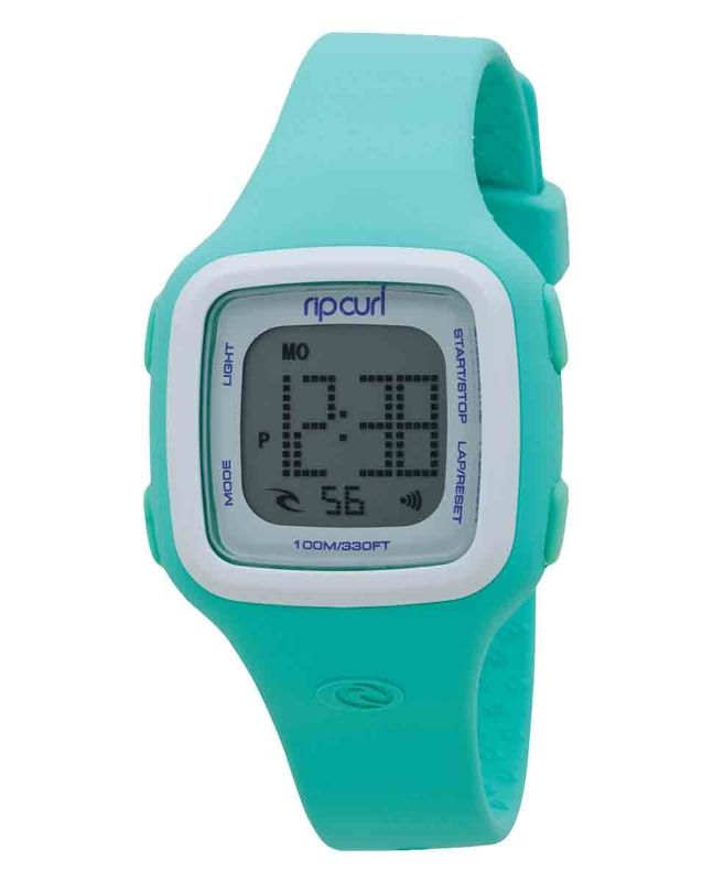 The Candy is the perfect digital sports watch for a long day at the beach. It's made with a super soft silicone case and strap for comfort and the digital read-out features date and time, stopwatch, countdown timer, dual time, alarm and back light. Water