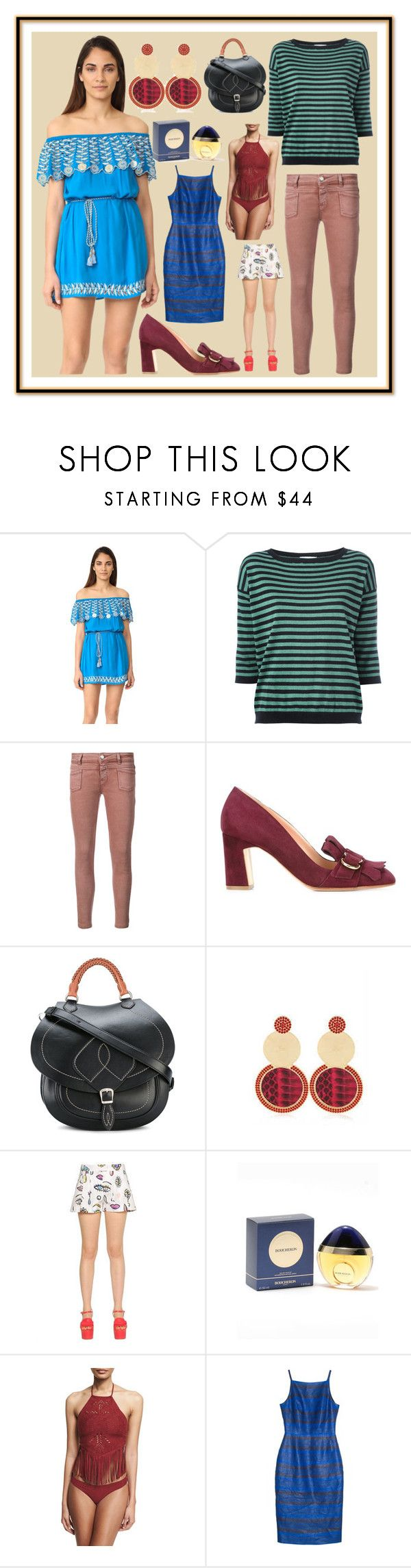 """""""Super Fashion"""" by cate-jennifer ❤ liked on Polyvore featuring RahiCali, Closed, Rupert Sanderson, Maison Margiela, Boutique Moschino, Boucheron, ále by Alessandra and Martin Grant"""