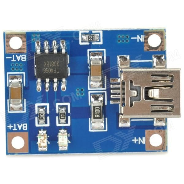 1A Lithium Battery Charging Module Blue at Cheap Price Online