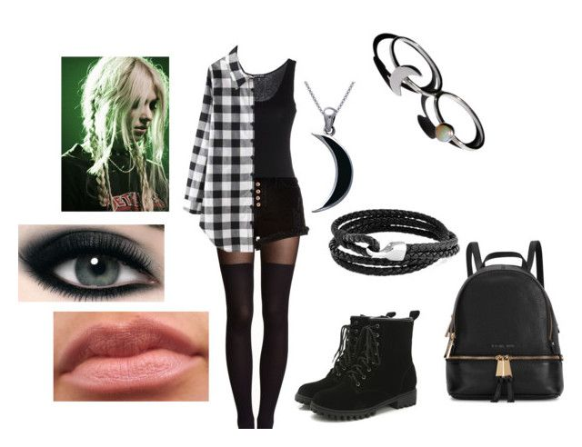 """R.Y Taylor Momsen 03#"" by clarityscream ❤ liked on Polyvore featuring H&M, River Island, Bling Jewelry, Carolina Glamour Collection, Holly Ryan and Michael Kors"