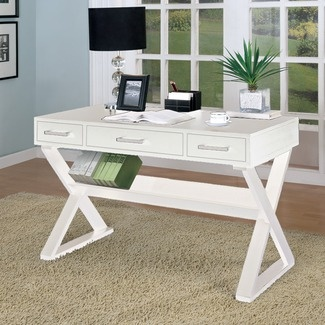 X-base desk: Decor, Ideas, Office Desks, Writing Desk, Bicknell Writing, Furniture, Home Offices
