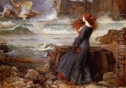 Miranda - The Tempest 1916  by John William Waterhouse