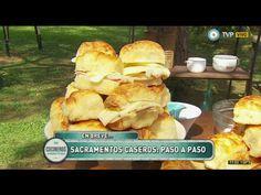 Sacramentos caseros rellenos de jamón y queso - Recetas – Cocineros Argentinos