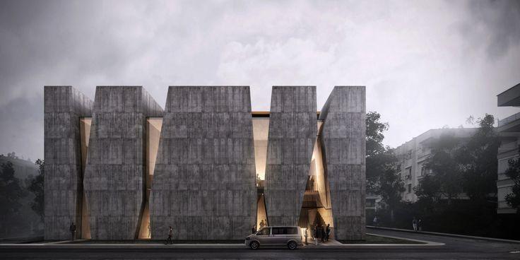 Alper Derinboğaz, Salon Designs PARKOPERA Cultural Center for Antalya,Courtesy of Alper Derinboğaz, Salon