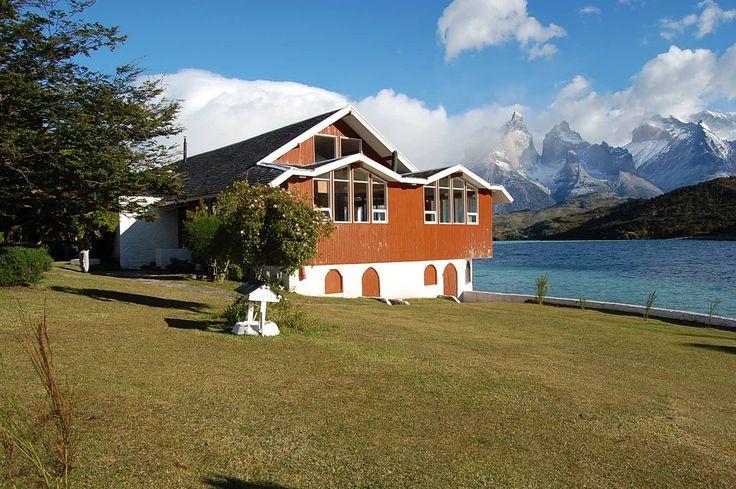 Torres del Paine vista desde Hostería Pehoe