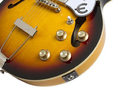 Epiphone Casino Coupe Semi-Hollowbody Electric Guitar, Gloss Vintage Sunburst Finish  http://www.instrumentssale.com/epiphone-casino-coupe-semi-hollowbody-electric-guitar-gloss-vintage-sunburst-finish-2/