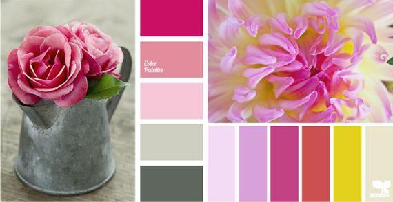 Холодный и теплый розовый цвет  Сочетания с холодным розовым цветом всегда сохраняют в себе свежеть, и даже желтые оттенки в паре с прохладным розовым имеют в себе примесь синего.