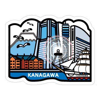 ご当地フォルムカード「神奈川」|POSTA COLLECT|郵便局のポスタルグッズ
