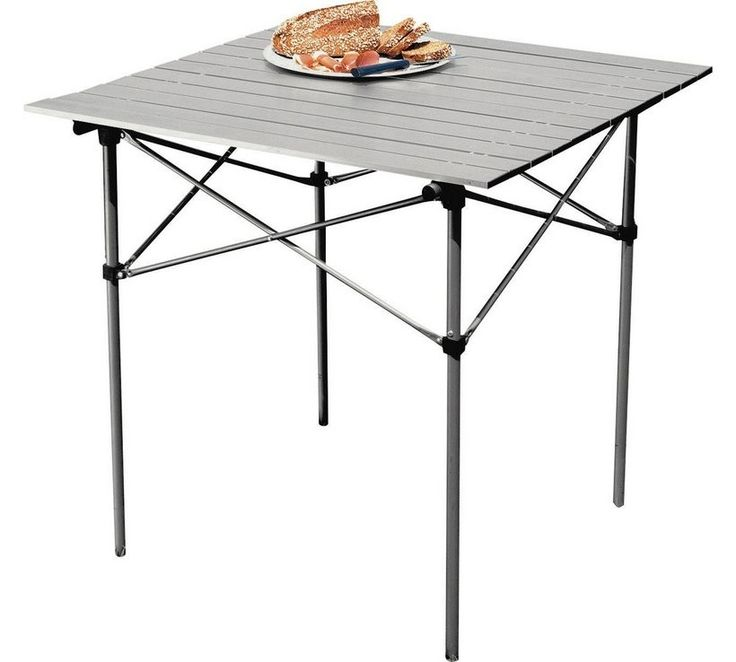 Aluminium Folding Camping Table with Slatted Top927/8211 £28.99. Rolls in long bag! 😀😀
