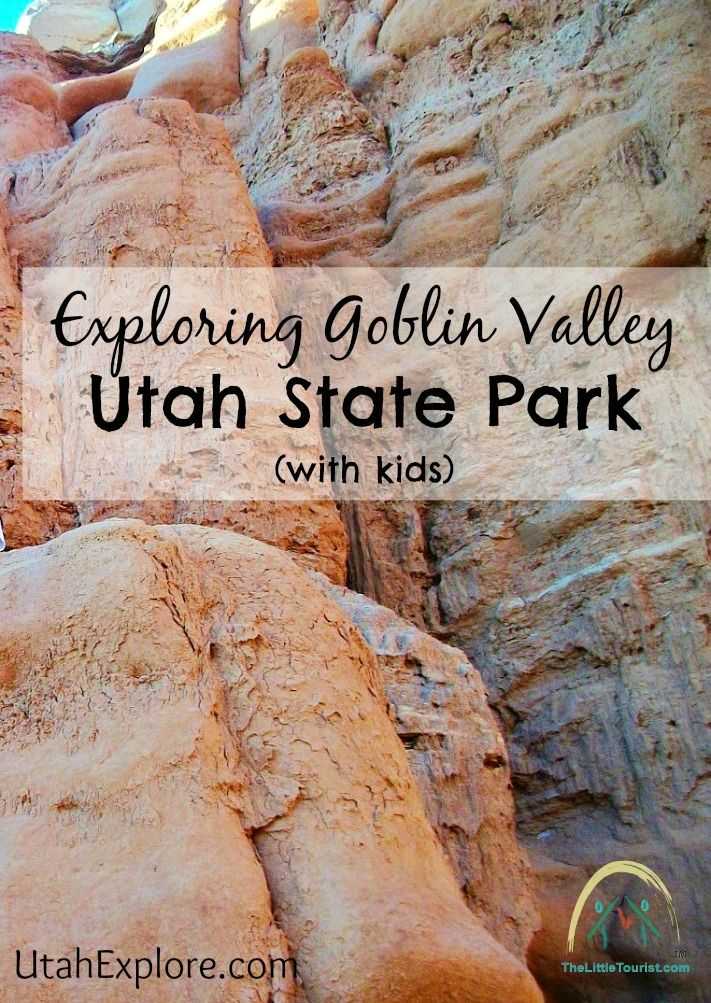 Have you ever tried Exploring Goblin Valley Utah State Park with kids? It's an amazing experience for the whole family and so worth the trip! - TheLittleTourist.com