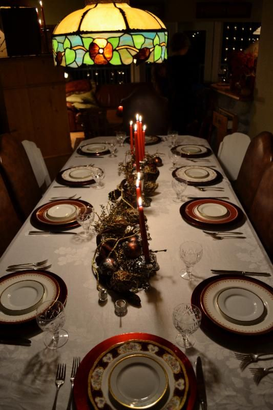 Love this table setting, how's yours?