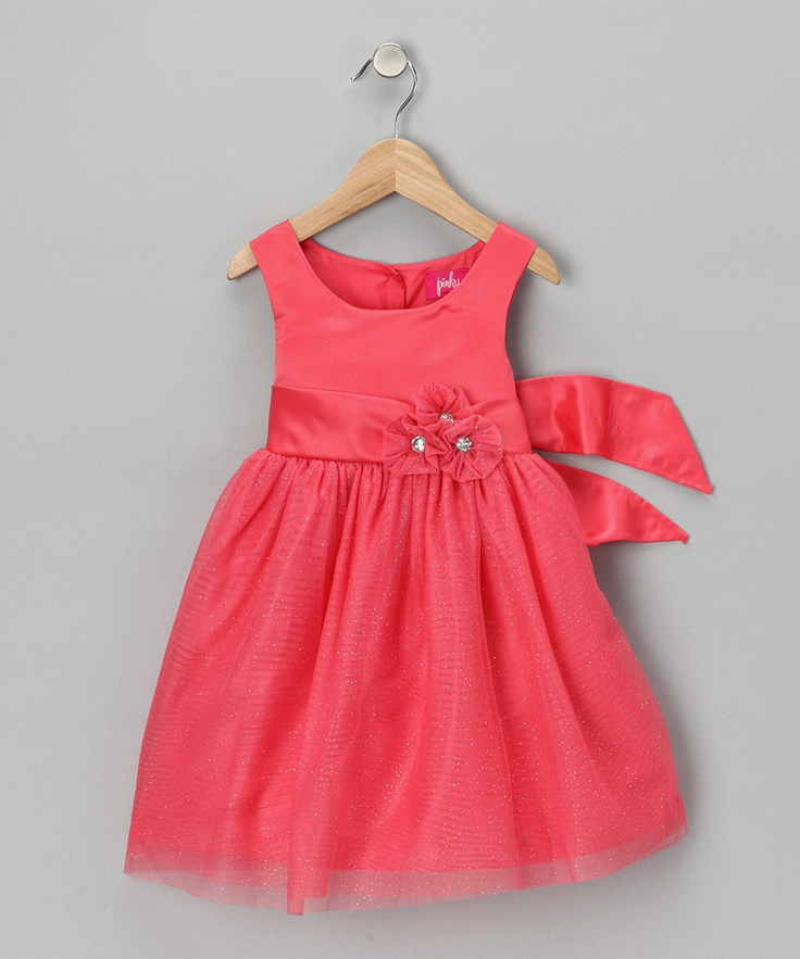 Coral Dress - Infant & Toddler zulily