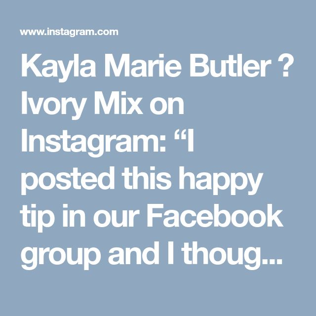 "Kayla Marie Butler 🌿 Ivory Mix on Instagram: ""I posted this happy tip in our Facebook group and I thought I'd share. Are you curious about some new ways to generate more traffic you…"" • Instagram"