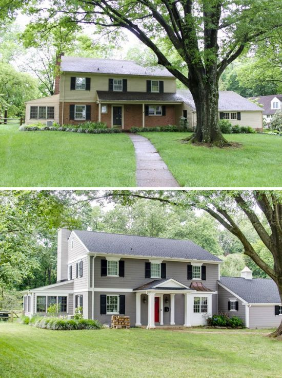 34 Best Images About Exterior Home Makeovers On Pinterest