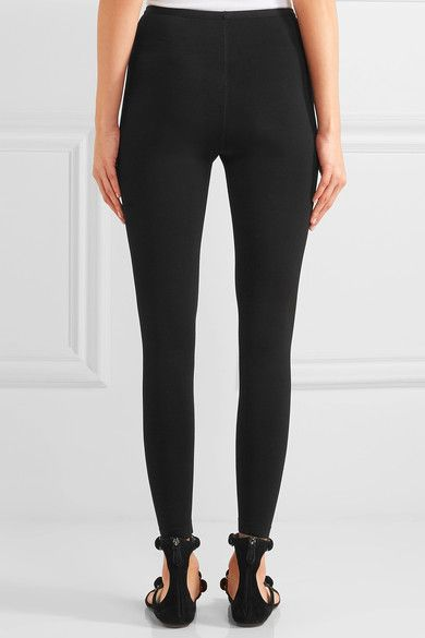 Alaïa - Stretch-knit Leggings - Black - FR