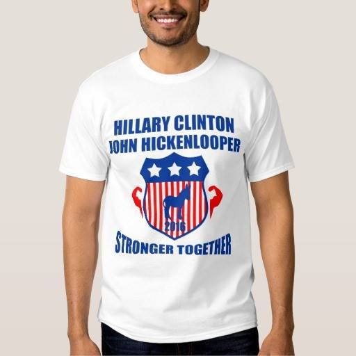 (HILLARY CLINTON HICKENLOOPER STRONGER TOGETHER T-SHIRT) #2016 #Clinton #ClintonHickenlooper #Hickenlooper #Hillary #President #Stronger #Together is available on Funny T-shirts Clothing Store   http://ift.tt/2cHhCvW