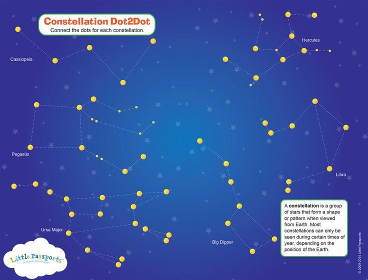 Free Constellation Activity Sheet