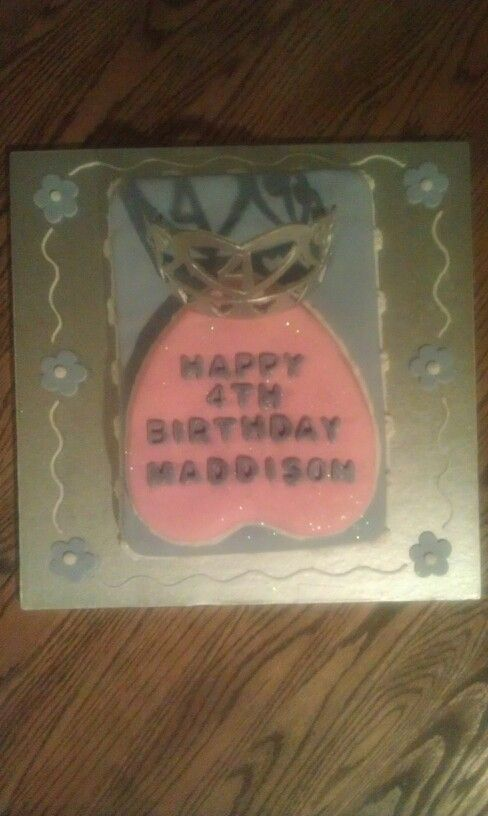 Maddisons 4th birthday