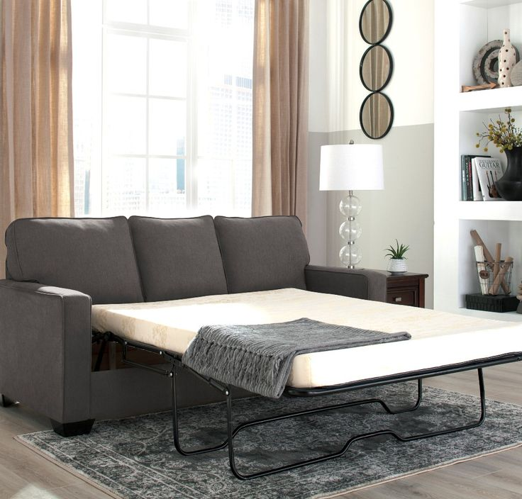 SPRING BLOW OUT SALE! Shelby sofa bed, with double memory foam mattress, $1199! Tax included & FREE local delivery! https://www.palluccifurniture.ca/shelby-double-sofa-bed-grey-fabric/