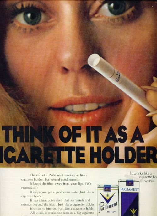 smoking is bad, you know.