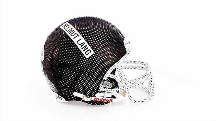 CFDA X Bloomingdale's. Des casques de football américain haute couture !