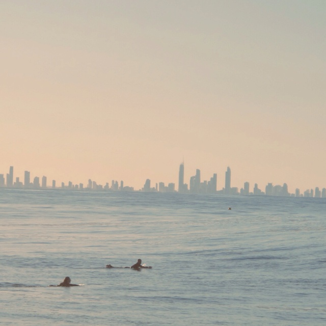Surfers Paradise Skyline- Snapper Rocks