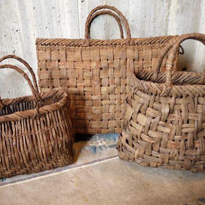 Yamabudo Baskets/山ぶどう籠バッグ