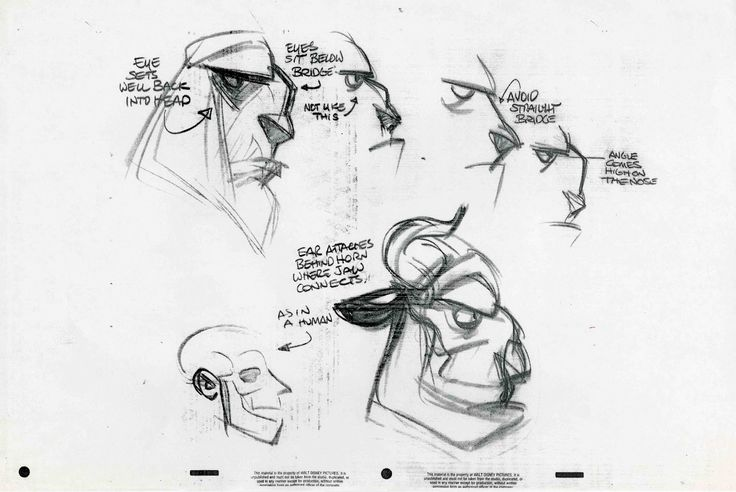 Character Design Notes Spot : How to create a model sheet character and creature design