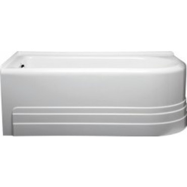 Awesome Americh B6032TOBI B6032Tobi 16 Inch Corner Bathtub With Integral Tile  Flange And Apron In Biscuit |
