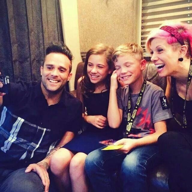 John And Korey Cooper Kids
