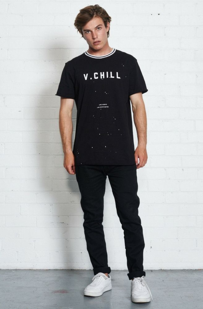 nana judy - V.Chill T-Shirt - Black