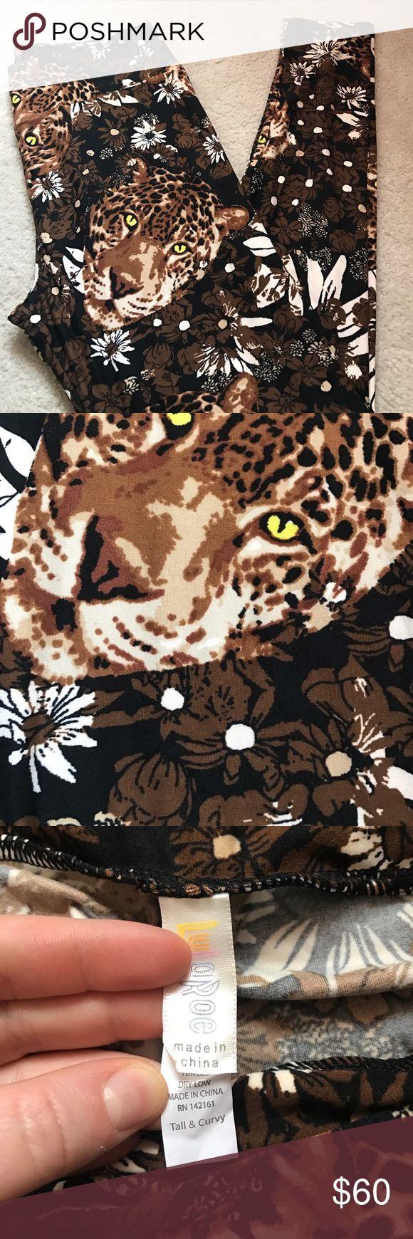 NWOT LuLaRoe Tall & Curvy Cheetah Leggings NWOT LuLaRoe Tall & Curvy Leggings (fits sizes 12-22) LuLaRoe Pants Leggings