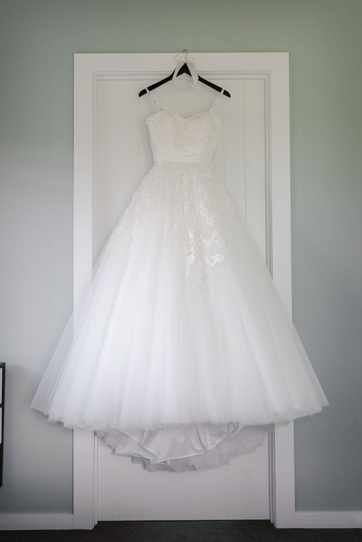 Wedding dress from Halo Bridal H7905 in ivory.