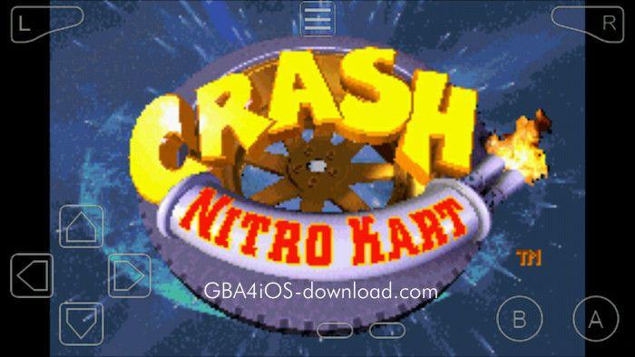 Download Crash Nitro Kart GBA   My Saves   Crash bandicoot