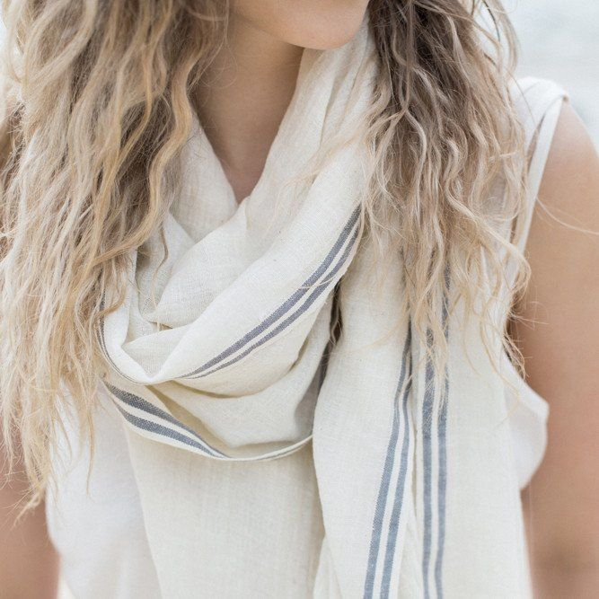 Meeko Scarf Ethically handwoven by artisans in Ethiopia