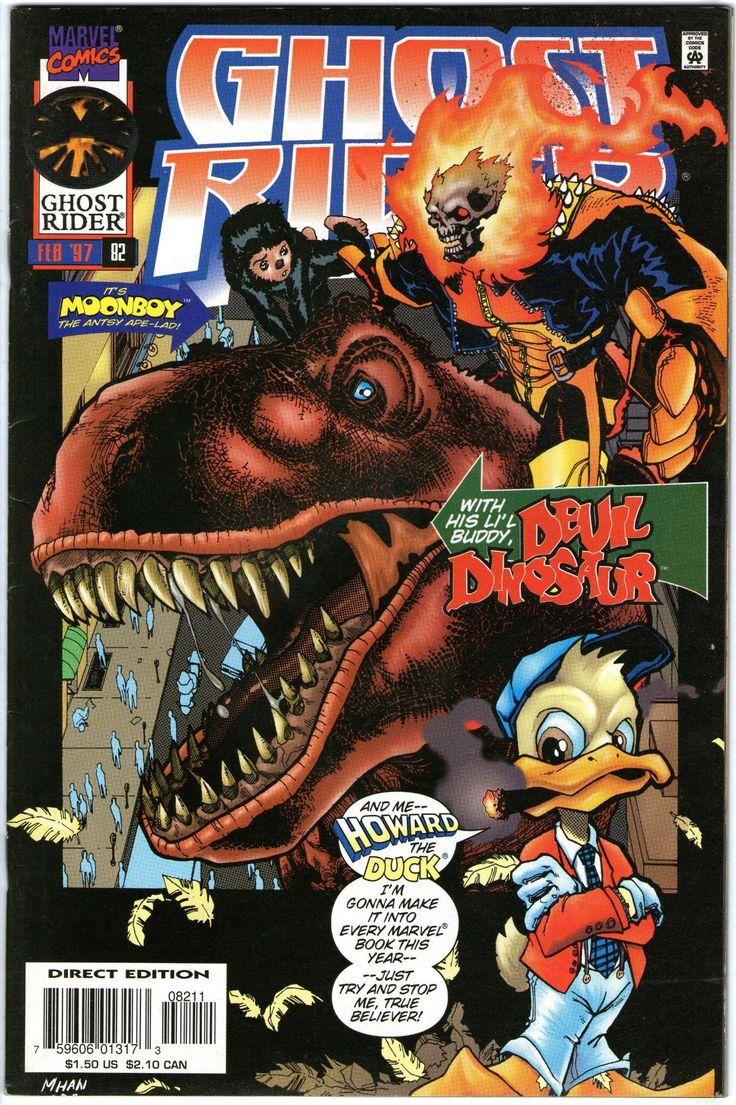 Ghost Rider #82. Vol2. Marvel Feb 1997. Howard the Duck. Devil Dinosaur.FN+/VFN-